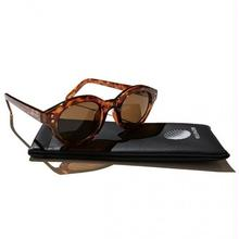HELLRAZOR MONK SUNGLASSES  BROWN