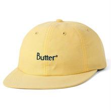 BUTTER GOODS OXFORD 6 PANEL HAT  SUNFLOWER