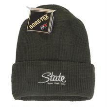 STATE NYC  GORE-TEX© COUNTERFEIT BEANIE   OLIVE