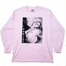 BOW3RY CULT L/S TEE   PINK