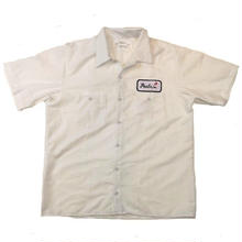 PEELS WORK S/S SHIRT  WHITE