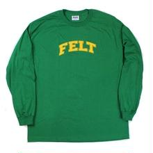 FELT WARM UP L/S TEE  K,GREEN