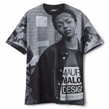 INTERBREED  3MC'S ALL-OVER SS TEE    BLACK