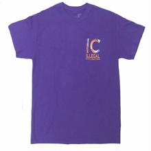 ILLEGAL CIVILIZATION CLASSIC TEE    PURPLE