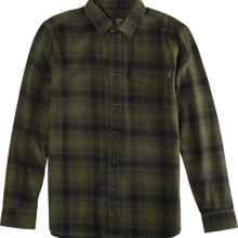 EMERICA STANLEY L/S WOVEN SHIRT     ARMY GREEN