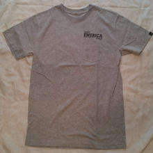 EMERICA DESTROY EVERYTHING SIGN TEE   grey   black