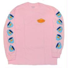 TIRED DINER L/S TEE  PINK