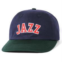 BUTER GOODS JAZZ 6 PANEL CAP- NAVY / FOREST