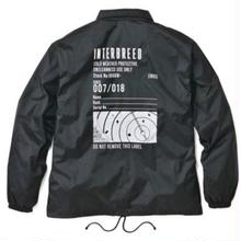 INTERBREED RADER SCOPE COACH JACKET BLACK