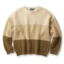 INTERBREED WOOL MIXED WAFFLE KNIT BEIGE