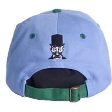 WAFFLESNCREAM TWO TONE HAT BLUE/GREEN