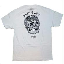 SKATCHY TANK   HIGH&DRY   TEE     WHITE