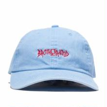 BROTHER HOOD  SCRIPT     WASHED BLUE