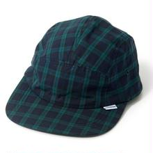 INTERBREED PATTERNED 5 PANEL CAP BLACK WATCH