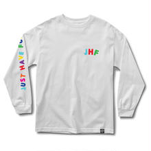 JHF HOLD UP L/S TEE  WHITE