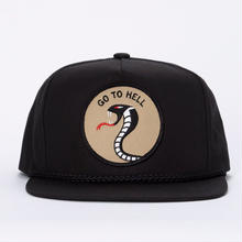 CRAWLING DEATH GO TO HELL HAT  BLACK