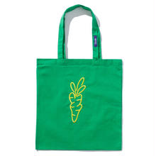 CARROTS TOTE BAG GREEN