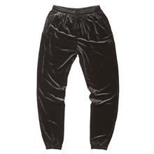 BORN X RAISED VELOUR PANTS  BLACK