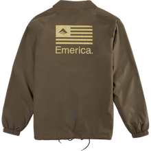 EMERICA DARKNESS JACKET  DARK BROWN