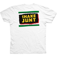 SHAKE JUNT CONCRETE JUNGLE   TEE       WHITE