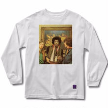 GRIZZLY X JIMI IN AMSTERDAM L/S TEE   WHITE