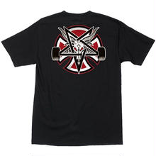 INDEPENDENT X THRASHER PENTAGRAM TEE BLACK
