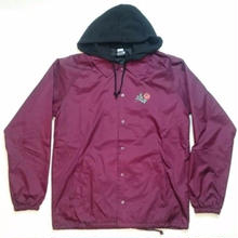 KR3W  HOODED CORCHES OXBLOOD