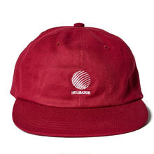 HELLRAZOR LOGO CANVAS 6PANEL-BURGUNDY