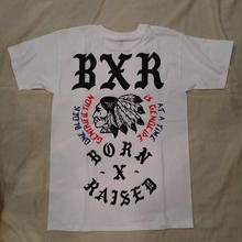 BORNxRAISED has a dirtbike tee white