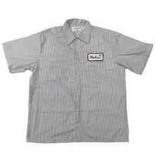 PEELS WORK S/S SHIRT  STRIPE