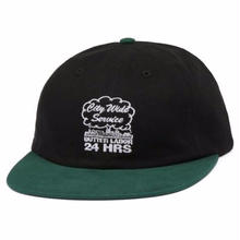 BUTTER GOODS XLABOR  CITYWIDE SERVICE 6 HAT  BLACK/F,GREEN