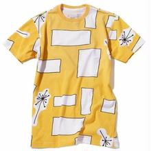 ILLEGAL CIVILIZATION   RECTANGLE  TEE    YELLOW