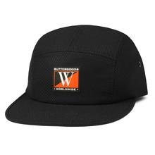 BUTTER GOODS DUB CAMP CAP        BLACK