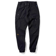 LAFAYETTE COTTON TACTICAL JOGGER PANTS BLACK