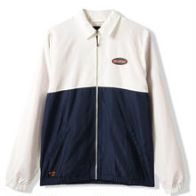 BUTTER GOODS MILE JACKET- OFF-WHITE / NAVY