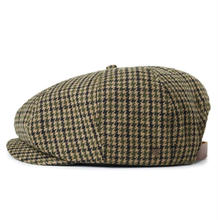 BRIXTON BROOD ADJ SNAP CAP-GREY/TAN PLAID
