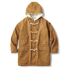 INTERBREED WORKERS HOLIDAY DUCK COAT  BROWN