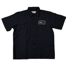 PEELS WORK S/S SHIRT  NAVY