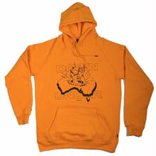 STREET X   DEVIL DOWN UNDER  HOOD    GOLD