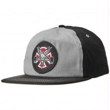 INDEPENDENT X THRASHER PENTAGRAM SNAP BACK  GREY/BLACK