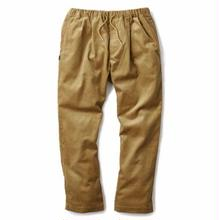 INTERBREED PLEATED CORDUROY RELAX TROUSER CAMEL