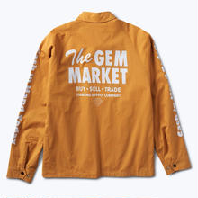 DIAMOND SUPPLY CO GEM SPEEDWAY JACKET    GOLD