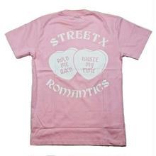 STREET X ROMANTICS  TEE    PINK