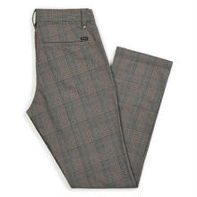 BRIXTON RESERVE CHINO PANT    GREY PLAID