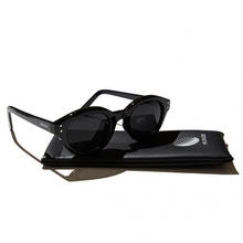HELLRAZOR  MONK SUGLASSES BLACK/SMOKE