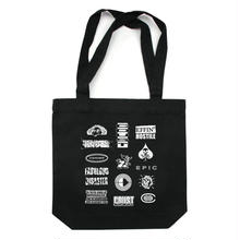 COMMON DUST STATE OF MIND TOTE    BLACK