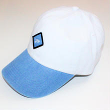 JHF LEGACY DAD HAT WHITE/DENIM
