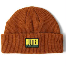 BUTTER GOODS WHARFIE BEANIE BROWN