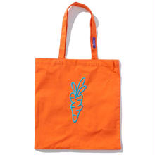 CARROTS TOTE BAG ORANGE