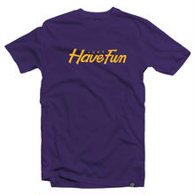 JHF TEAMED UP TEE PURPLE